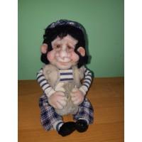 Текстильная кукла Михо