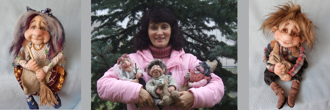 Авторские куклы Наталии Костеры