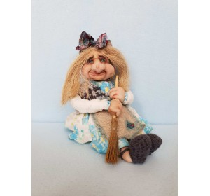 Кукла оберег Баба Яга