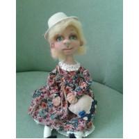 Текстильная кукла Эллина